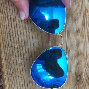 Ray-Ban Accessories - Ray Ban Aviator Flash Lenses Gold